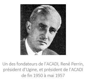 1946 : Création de l'ACADI